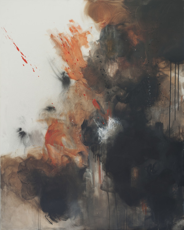 ENGULFED IN FLAMES #2 by Hannah Thomas