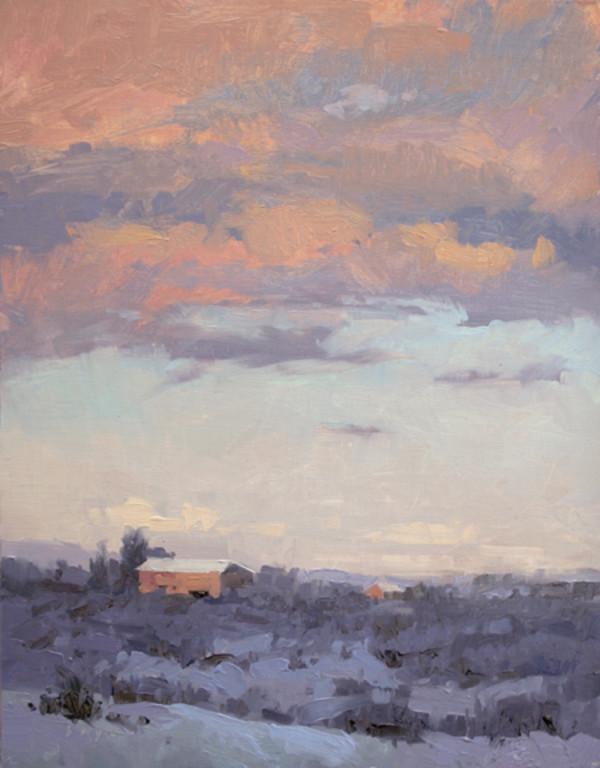 Mesa in Winter by Lyn Boyer