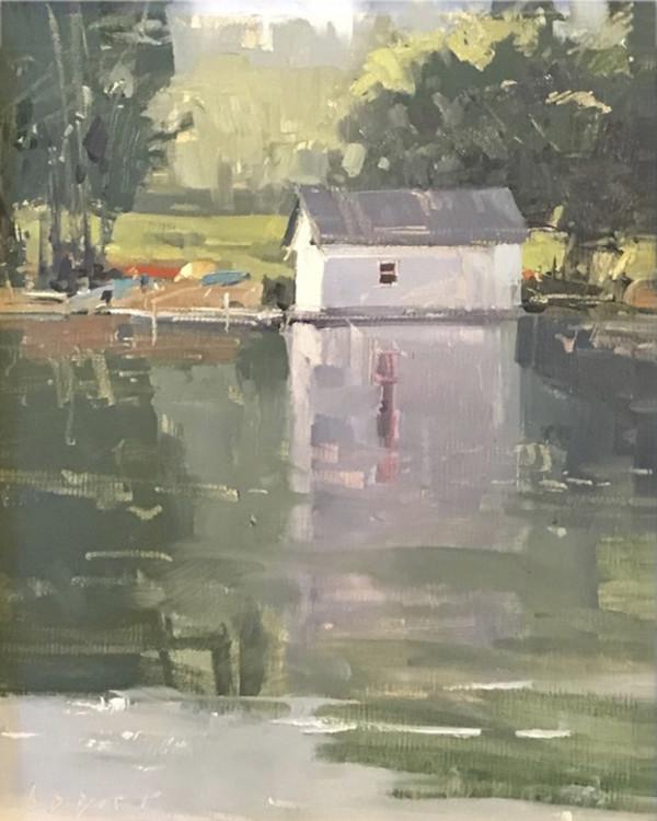Baker's Boathouse by Lyn Boyer