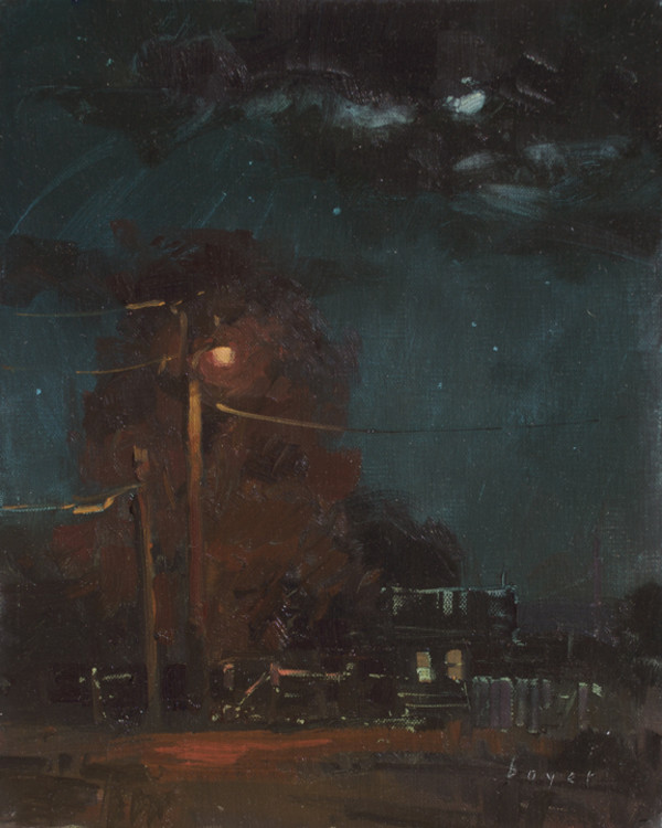 Night Lights by Lyn Boyer