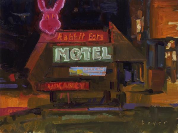 The Rabbit Ears Motel by Lyn Boyer