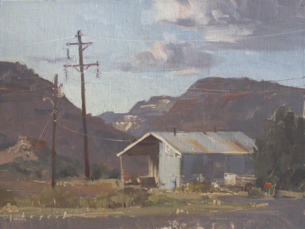 West of Town - Escalante, Utah by Lyn Boyer