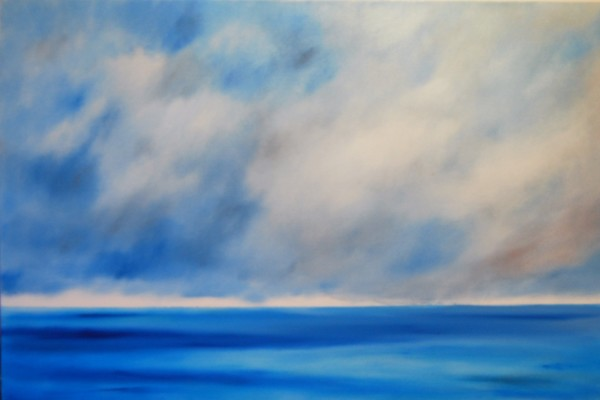 I went to the ocean to look at the sky by Marston Clough