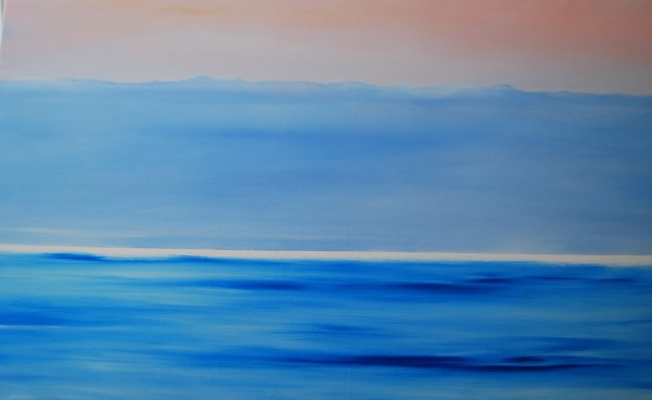 the summer sea by Marston Clough