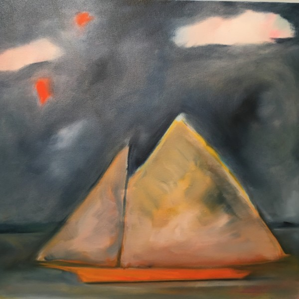 The Orange Boat by Marston Clough