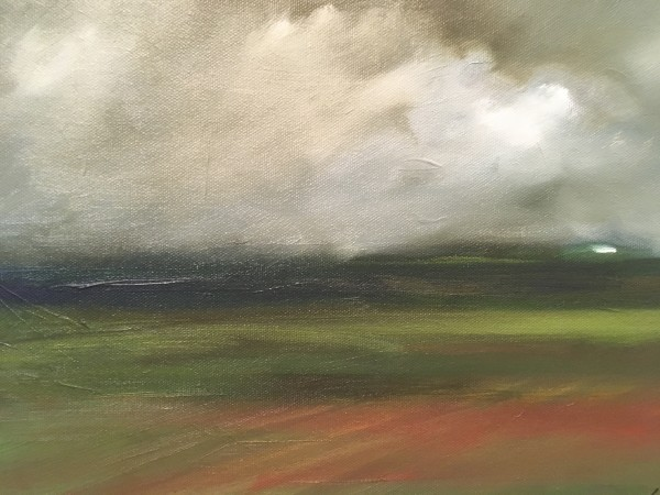 rainy farm by Marston Clough