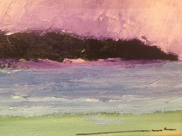 purple island by Marston Clough