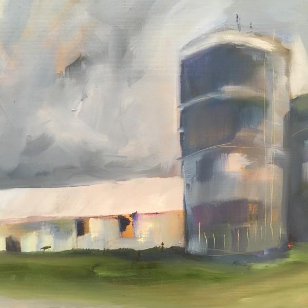 the farm silo by Marston Clough