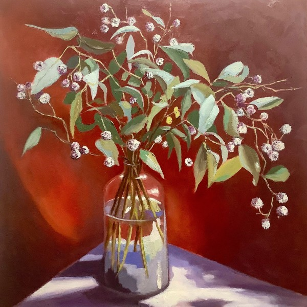 Eucalyptus Leaves by Fran Garrett