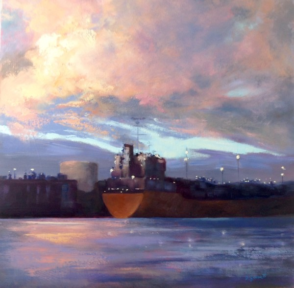Harbour at Dusk by Fran Garrett