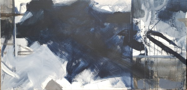 Abstract Triptych: Panel II by Richard Ketley