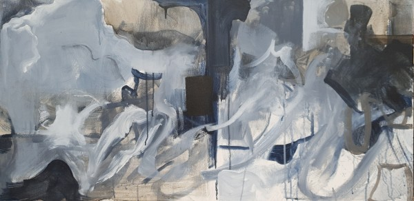 Abstract Triptych: Panel I by Richard Ketley