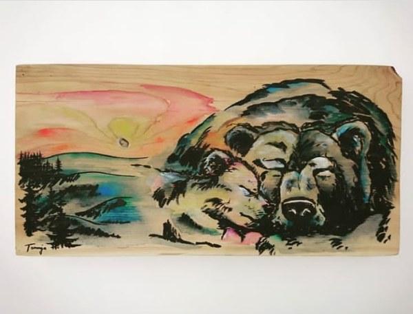Sleeping Bear Family by Tonnja Kopp