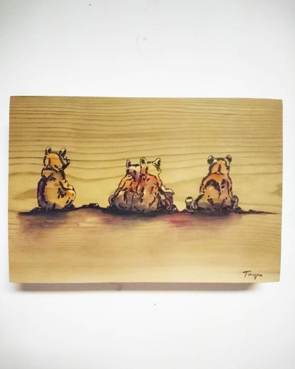 Bear Sisters by Tonnja Kopp