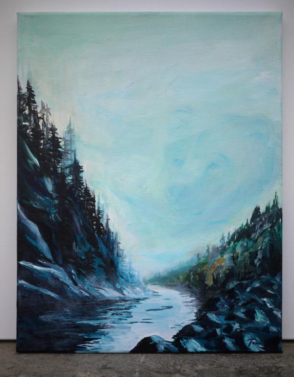 Squamish River by Tonnja Kopp