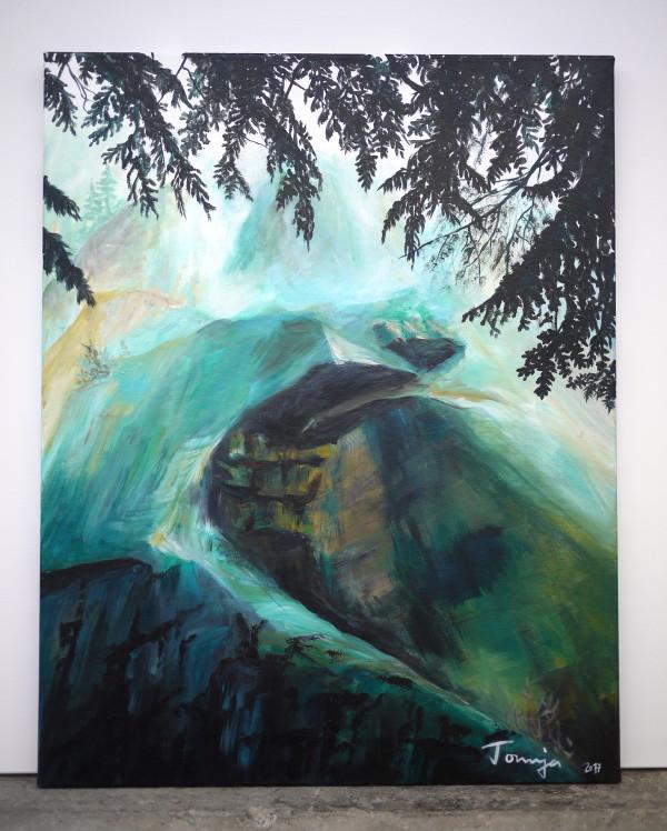 Rock Feature Little Wave by Tonnja Kopp