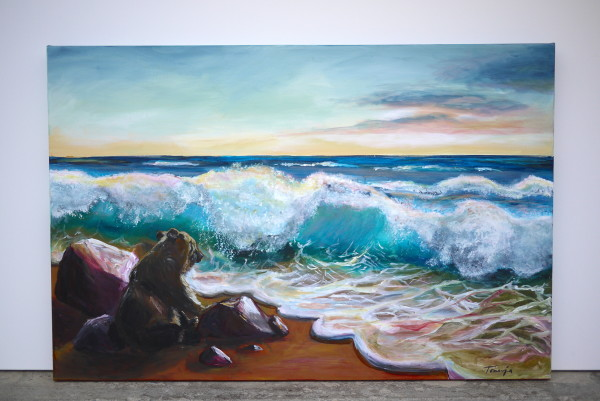 Tho old Bear and the Sea by Tonnja Kopp