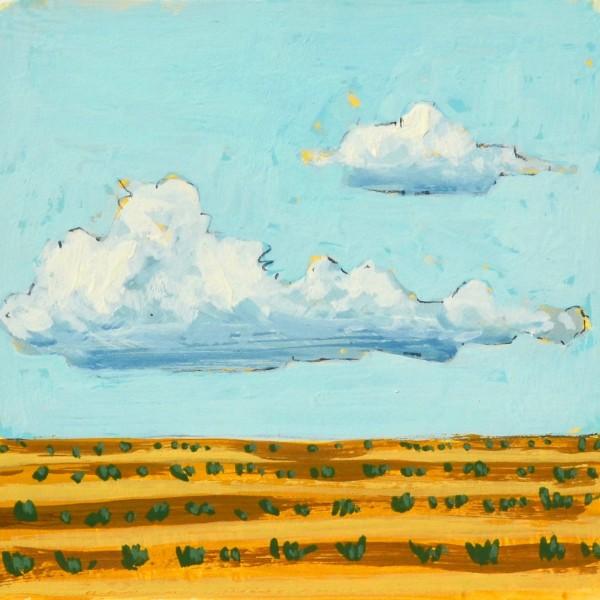 Adobe Farm: Clouds by Layla Luna
