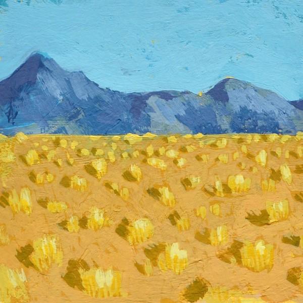 Adobe Farm: Mountains by Layla Luna