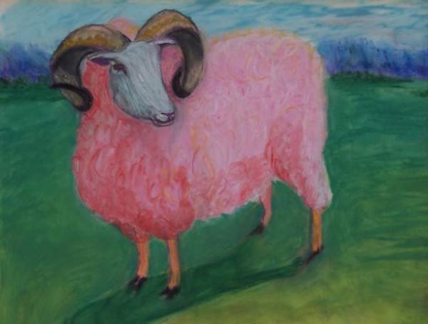 Pink Sheep by KJ Bateman