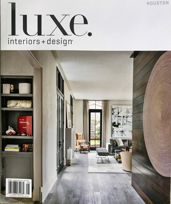 "Gunnerson, Tate, ""Bright Idea"", Luxe Interiors + Design, July/August 2018 by Nicola Parente"