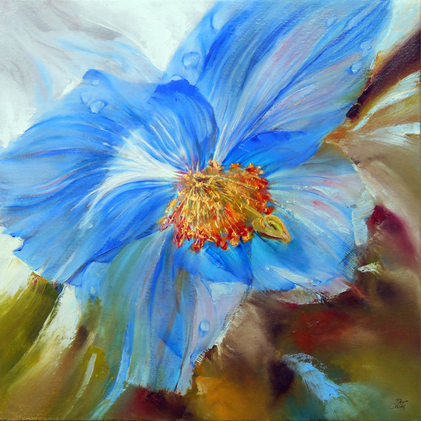 Himalayan Blue Poppy by Pat Cross