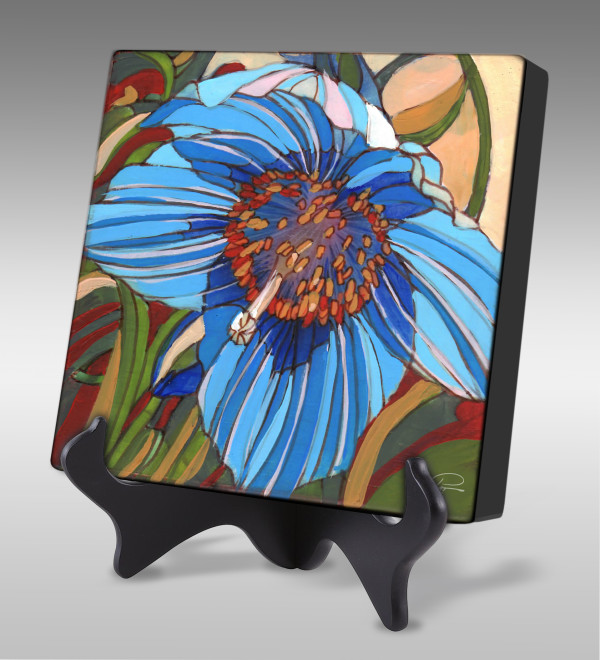 Blue Poppy by Pat Cross