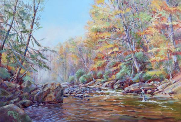 Appalachian Autumn by Pat Cross