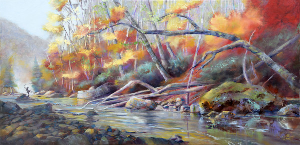 Autumn Angling by Pat Cross