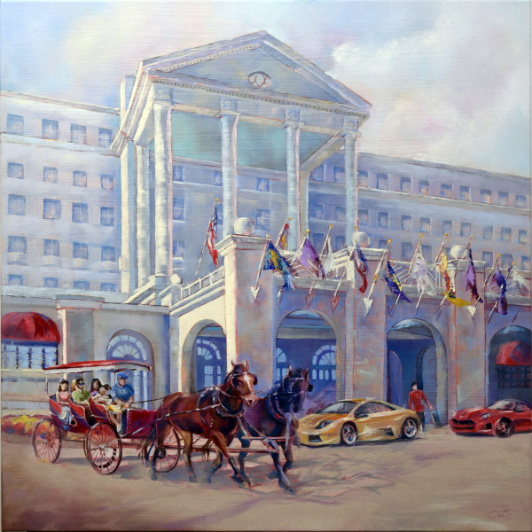Greenbrier Hotel Then and Now by Pat Cross