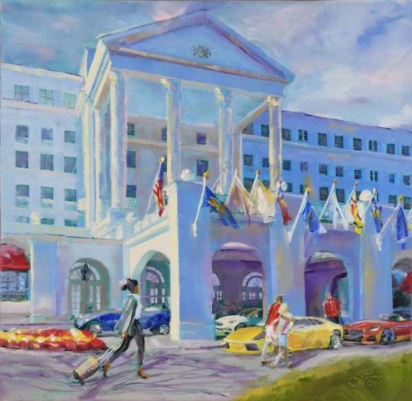 Greenbrier Hotel Jubilee by Pat Cross