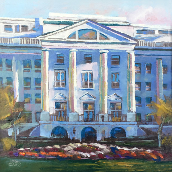 Greenbrier Resort Hotel by Pat Cross