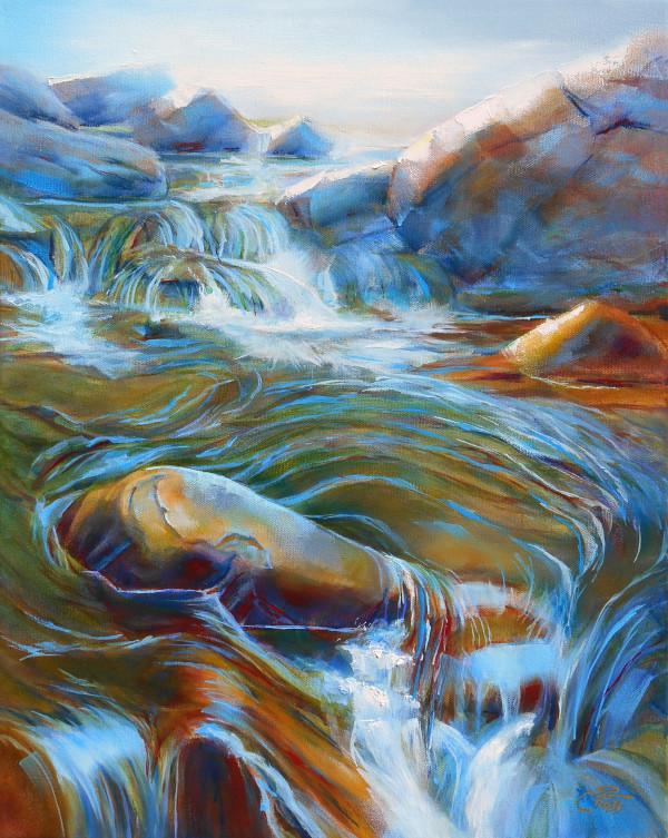 Meandering Waters by Pat Cross