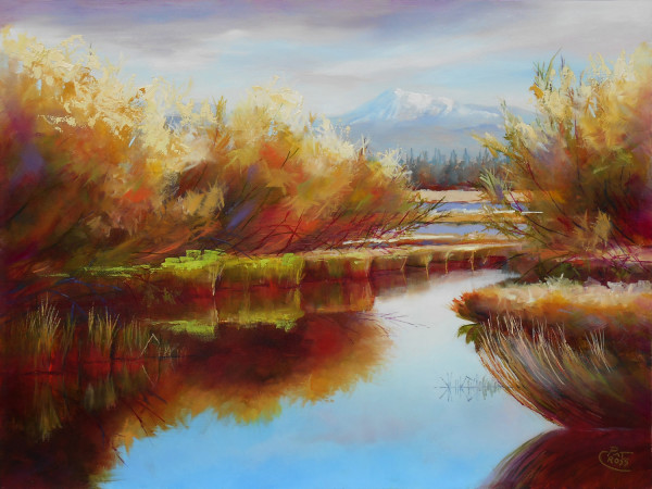 Welcoming Willows by Pat Cross