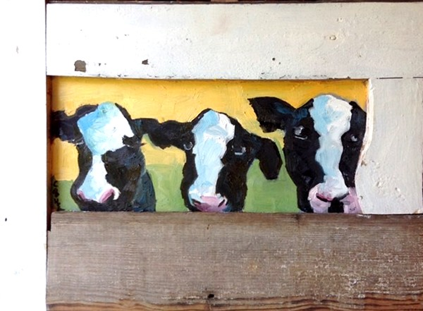 Blue Betty and Friends by Corinne Galla