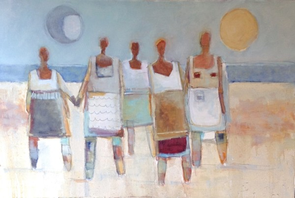 Oyster Gatherers by Corinne Galla