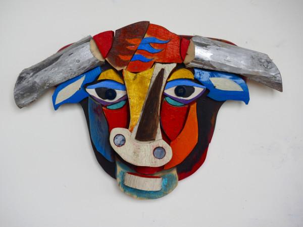 Adolescent Bull by George Thaddeus Saj