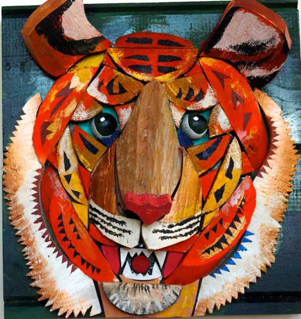 Adolescent Tiger by George Thaddeus Saj