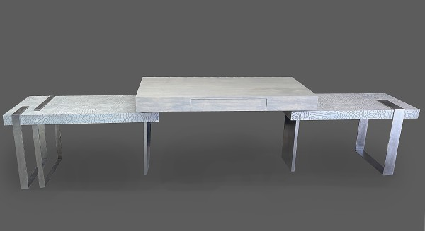 Custom desk console by Andrea Wendel