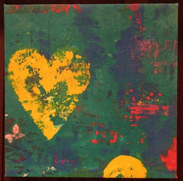 Yellow Heart by LZ Lerman