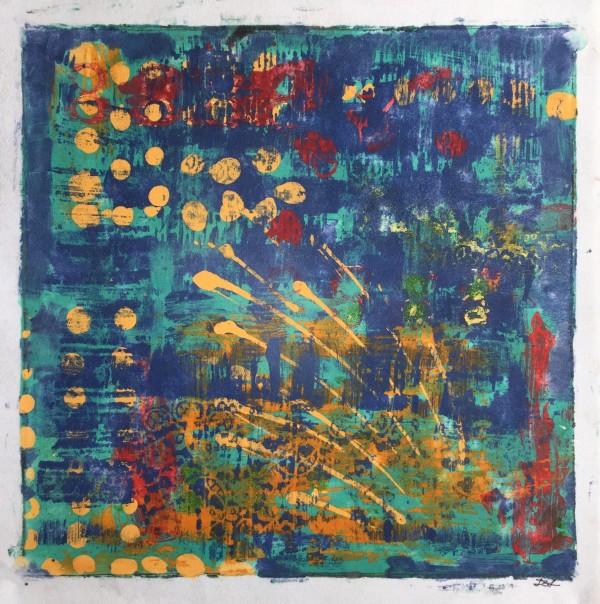 Yellow Dots 2 by LZ Lerman