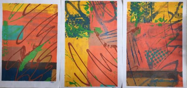 Triptych by LZ Lerman