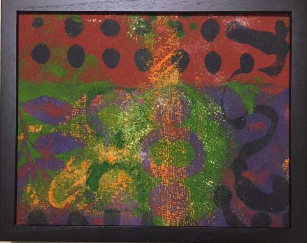 Purple Leaf by LZ Lerman