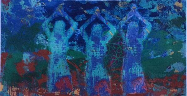 Three Women (Giclee) by LZ Lerman