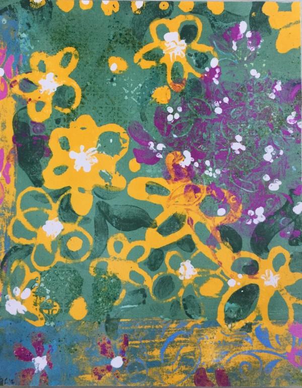 Yellow Flower by LZ Lerman