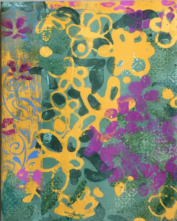 Bloom (Yellow Flower 2) by LZ Lerman