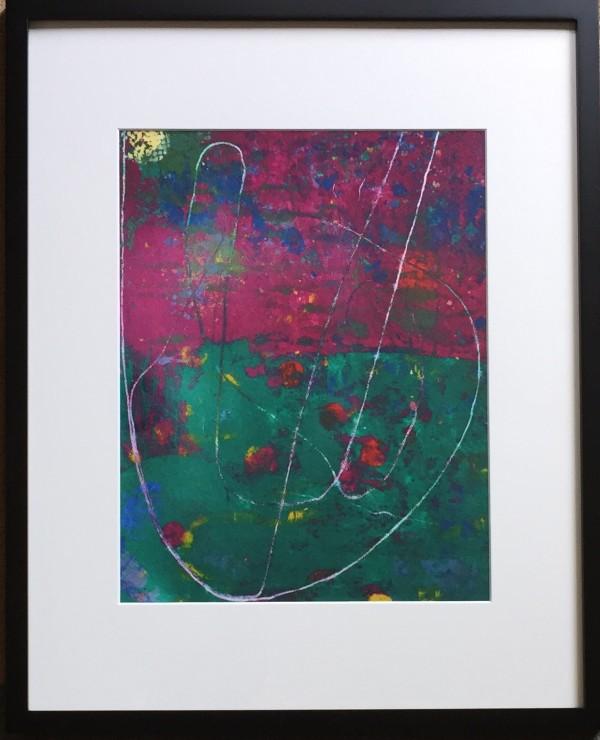 Magenta & String III by LZ Lerman