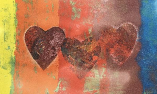 Triple Hearts (Rainbow Series) by LZ Lerman
