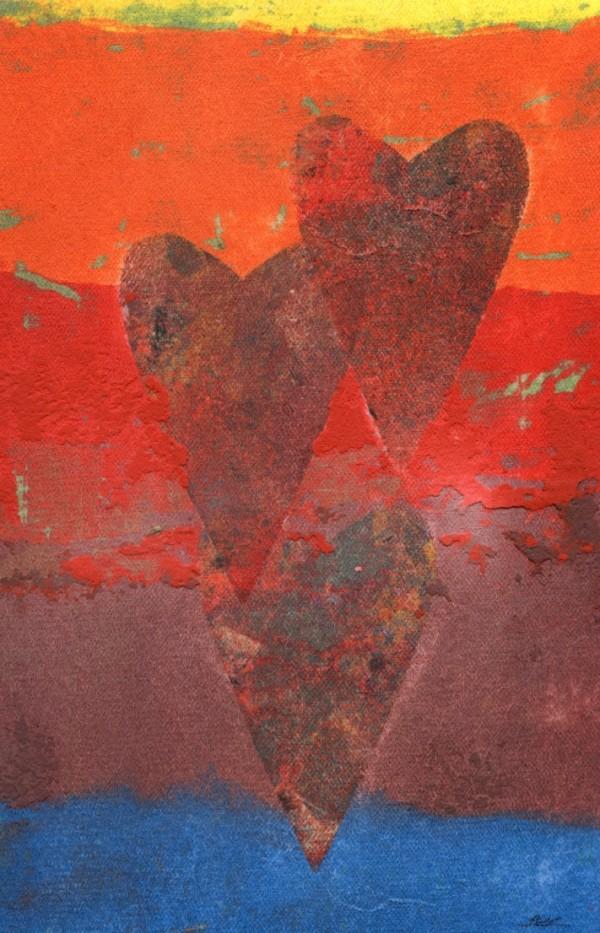 Three Hearts (Rainbow Heart Series) by LZ Lerman