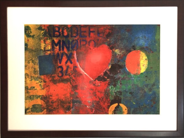 Rainbow Heart (series) II by LZ Lerman